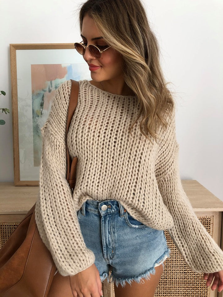 Desert Skies Knit - Oatmeal