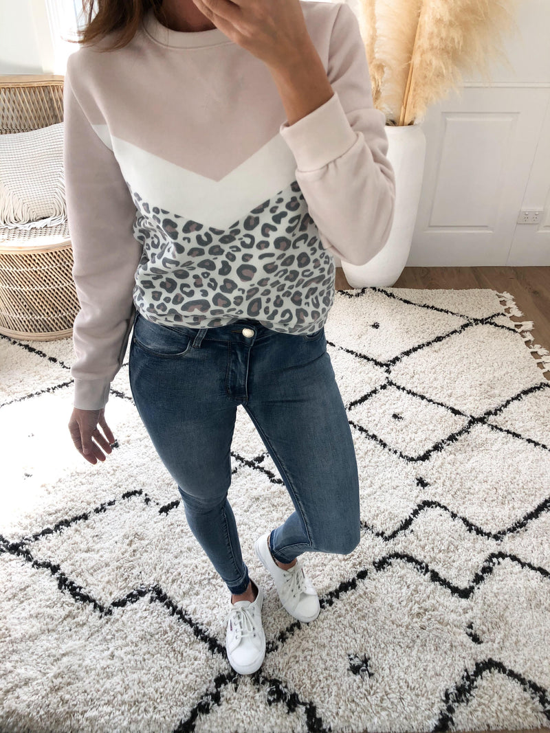 Amina Leopard Crew - All About Eve