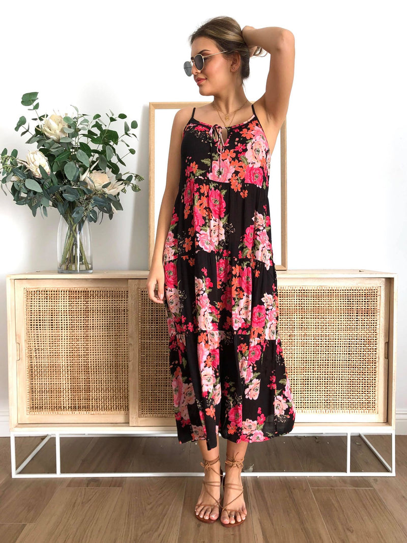 Ivy Palm Maxi - Floral RE STOCKING SOON