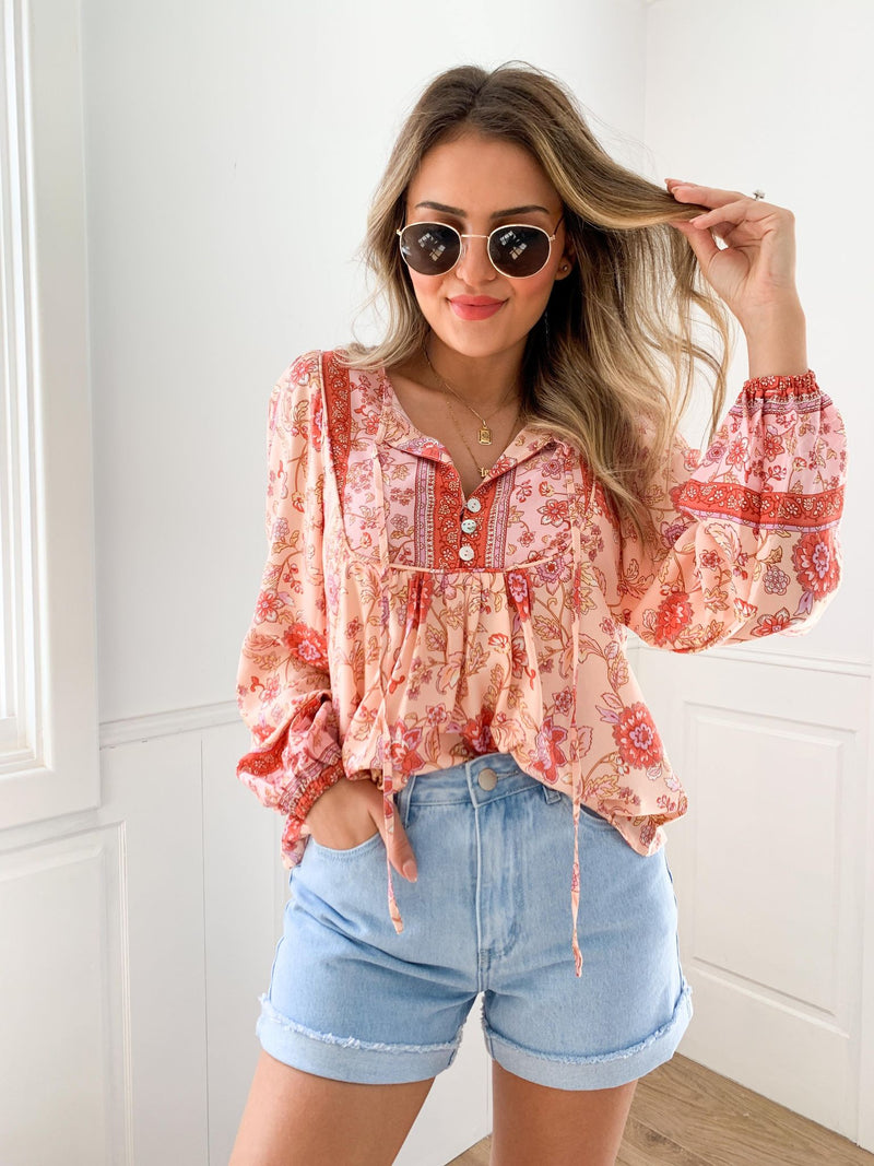 Melody Blouse - Pink