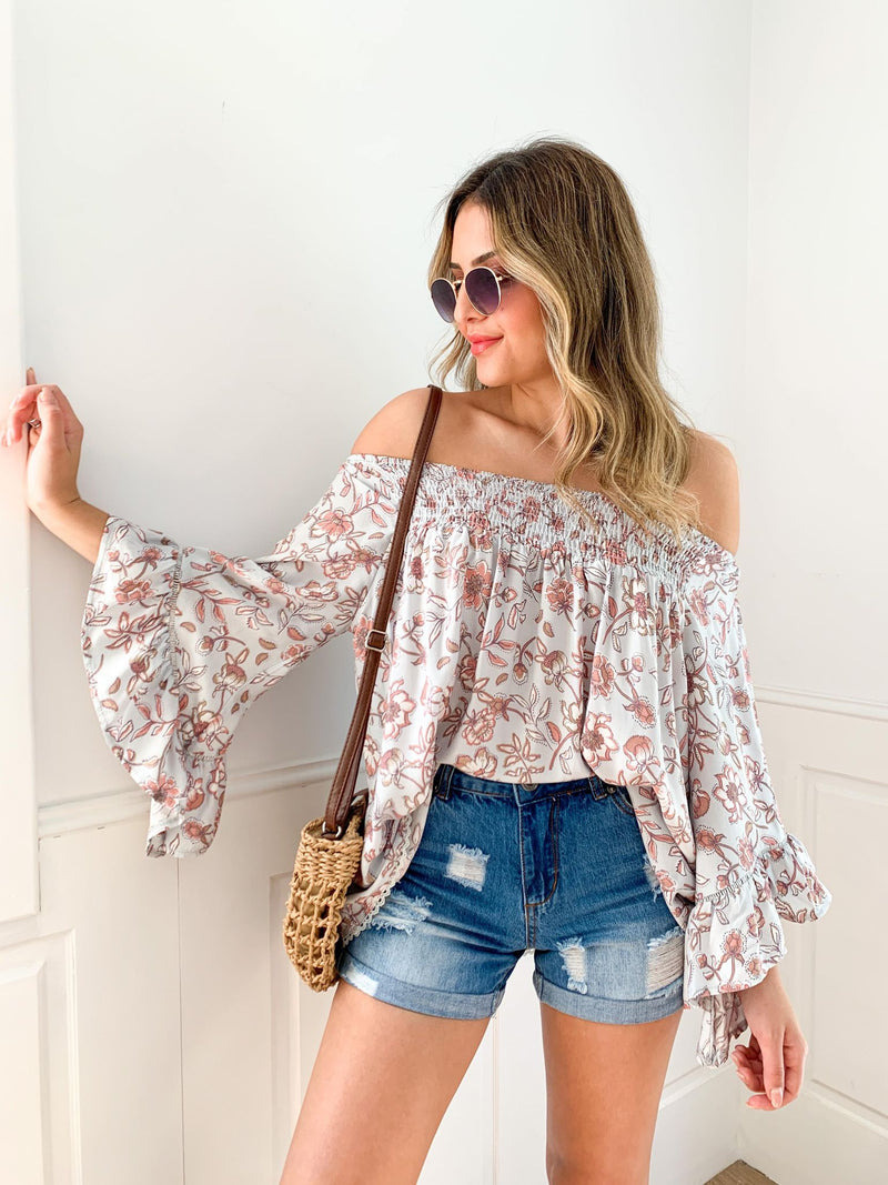 Margret Off Shoulder Top