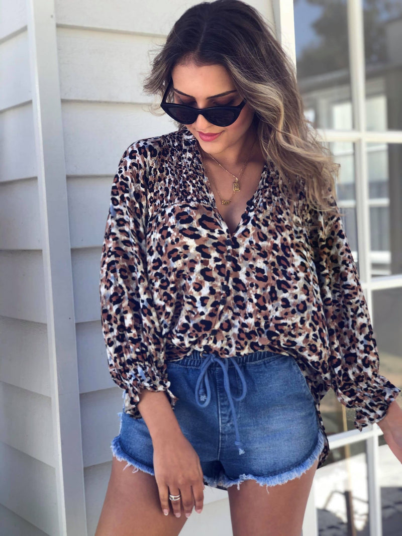 Stand Back Blouse