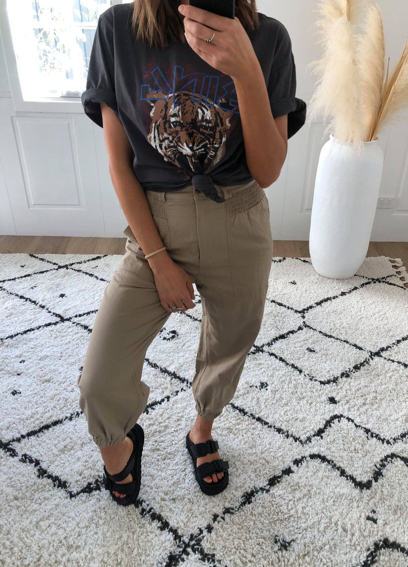 Holly Pant - Taupe