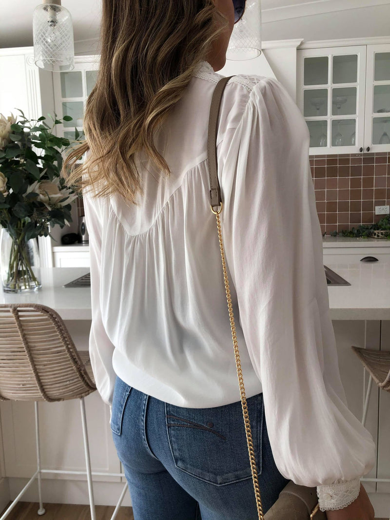 Zoey Blouse - White