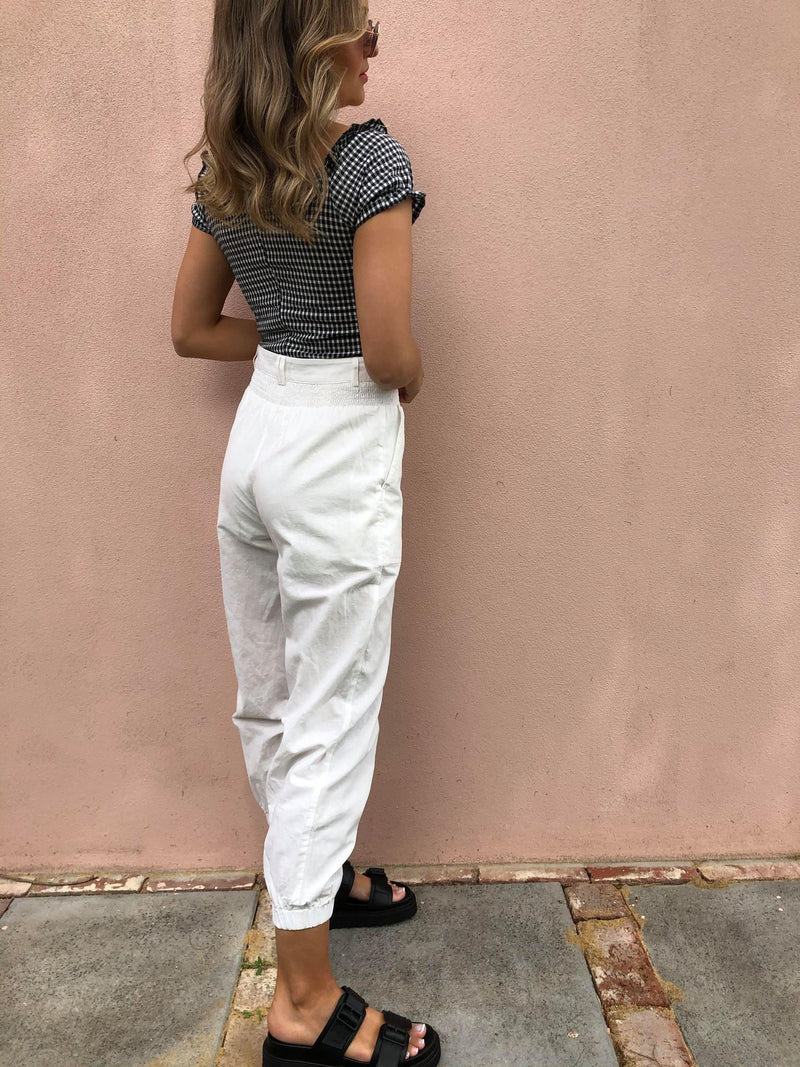 Holly Pant - White