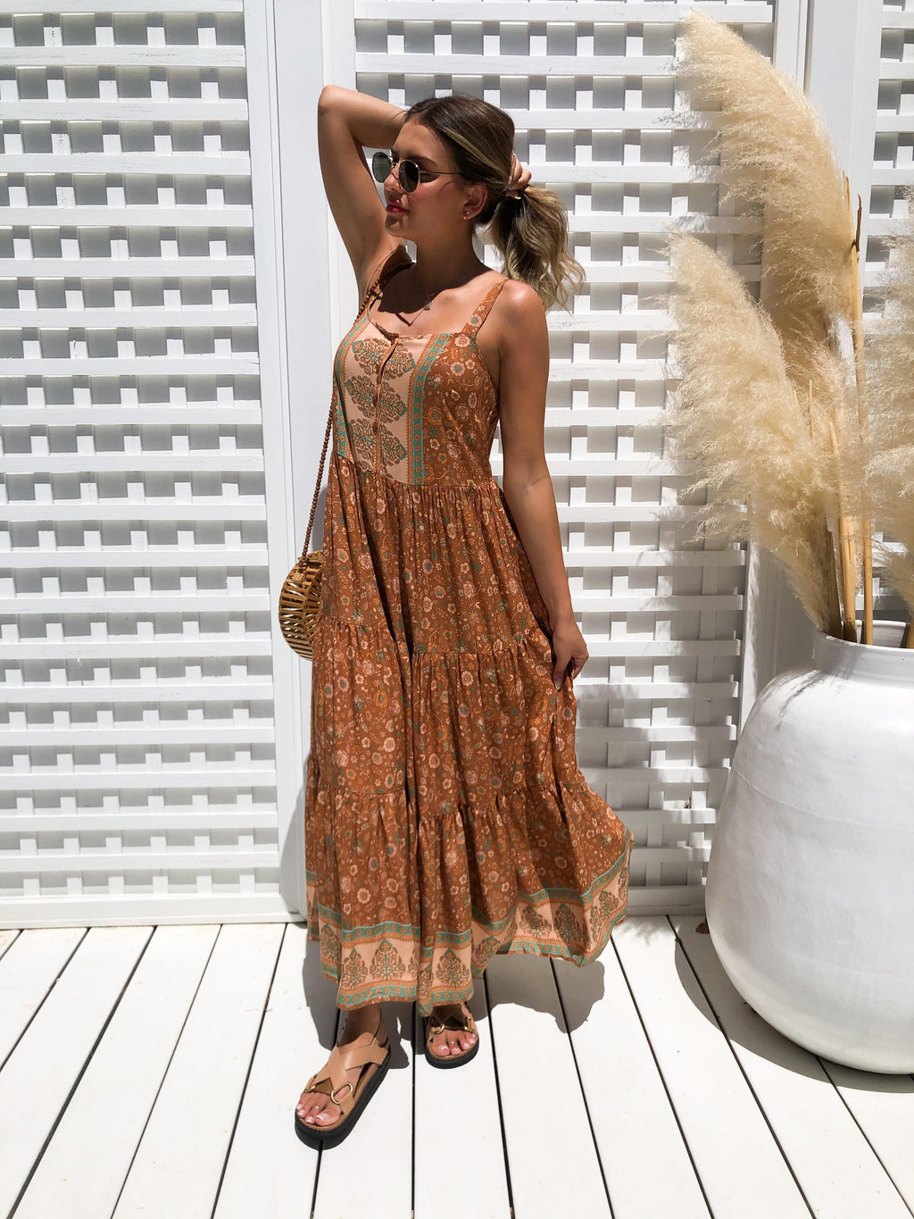 Lara Slip Maxi Dress
