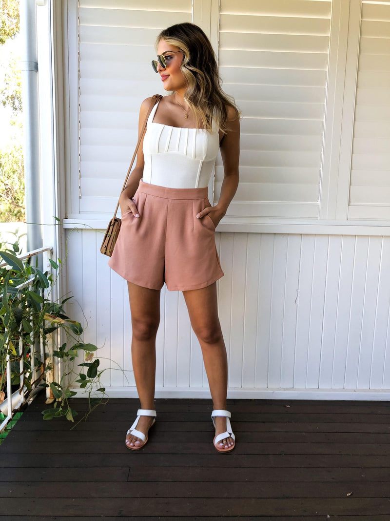 Believer Shorts - Tan