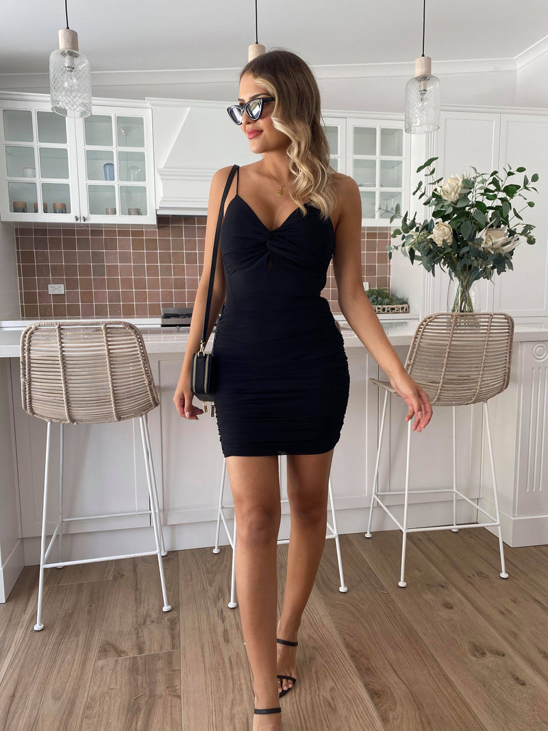 Tilly Mini Dress - Black