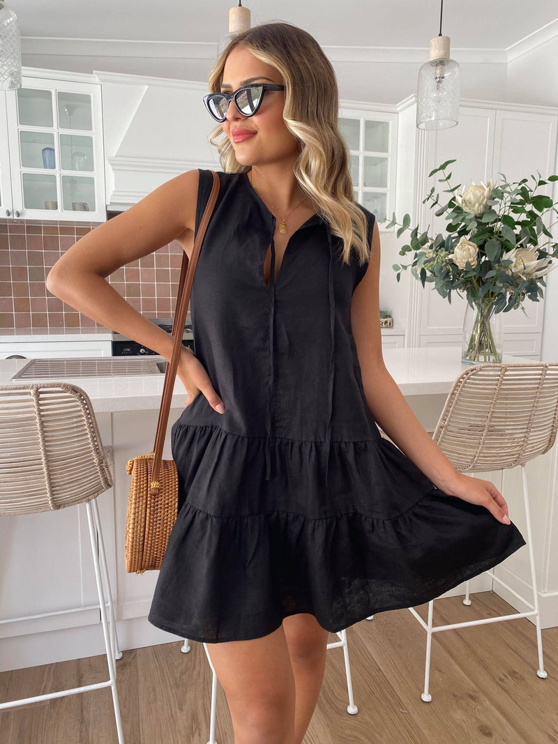 Andie Dress - BLACK
