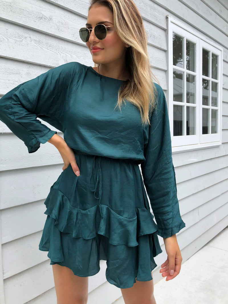Daybreak Dress - EMERALD