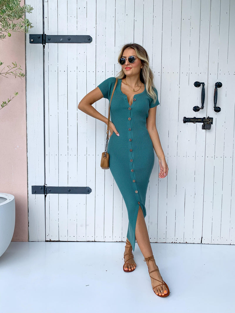 Moses Dress - Green