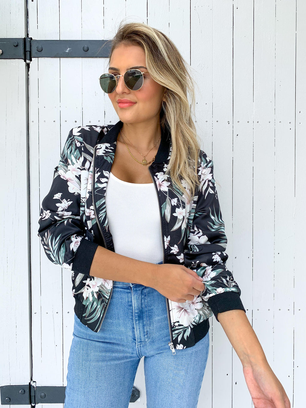 Lilly Bomber - BLACK