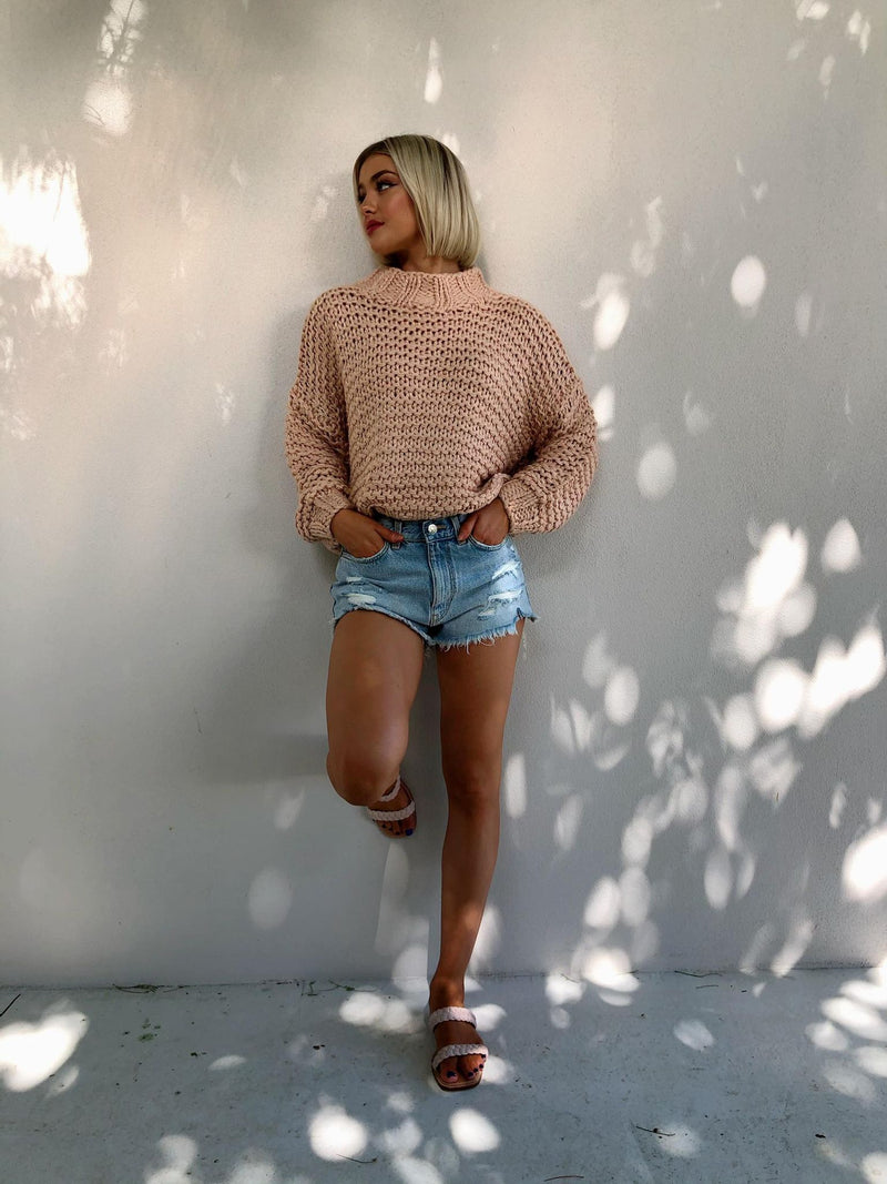 Tempo Jumper - Dusty Pink