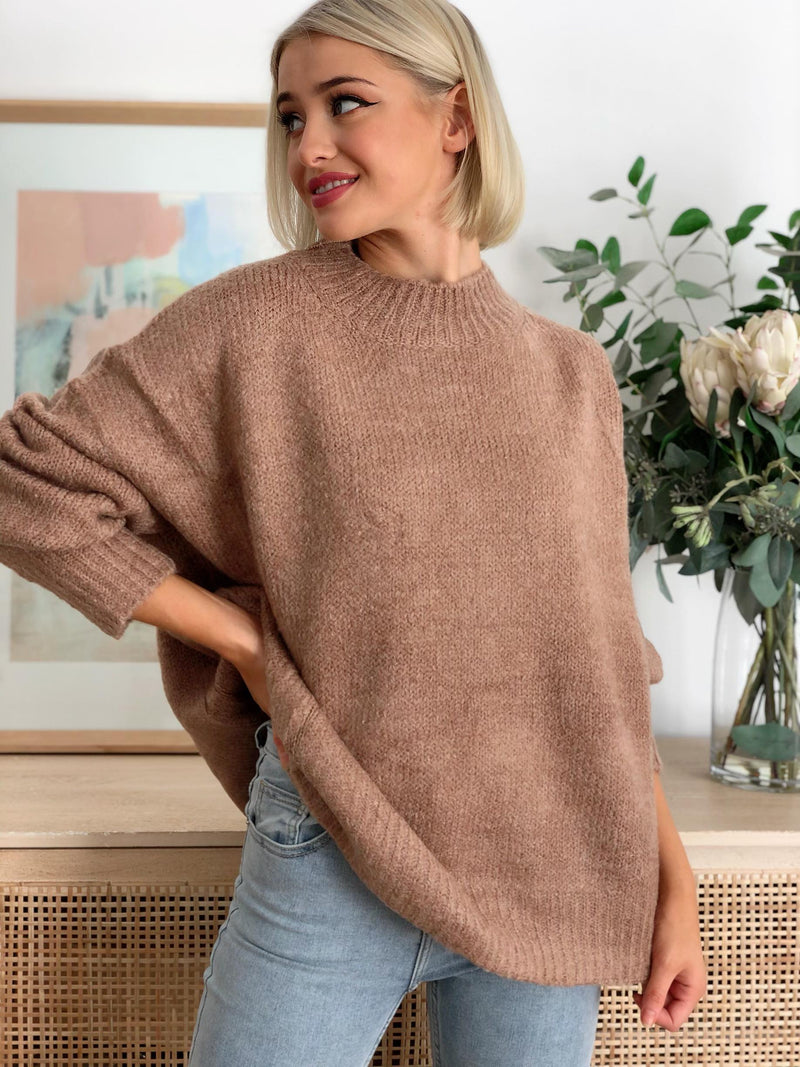 Tully Knit - Chocolate