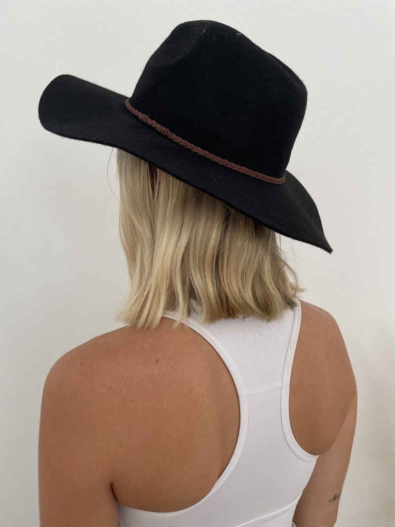 Daybreak Felt Hat - Black