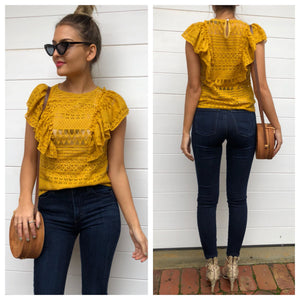 Luna Lace Blouse