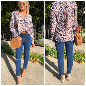 Wildcat Drape Blouse