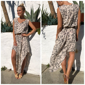 Laurie Leopard Maxi Dress