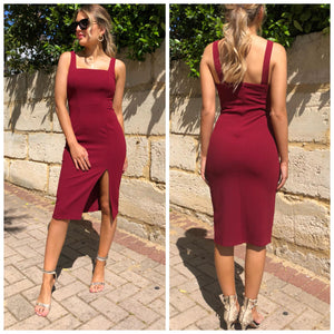 Elm Dress - Berry