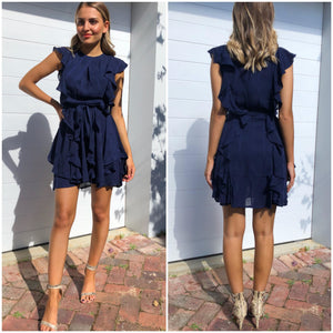 Treasure Dress - Navy