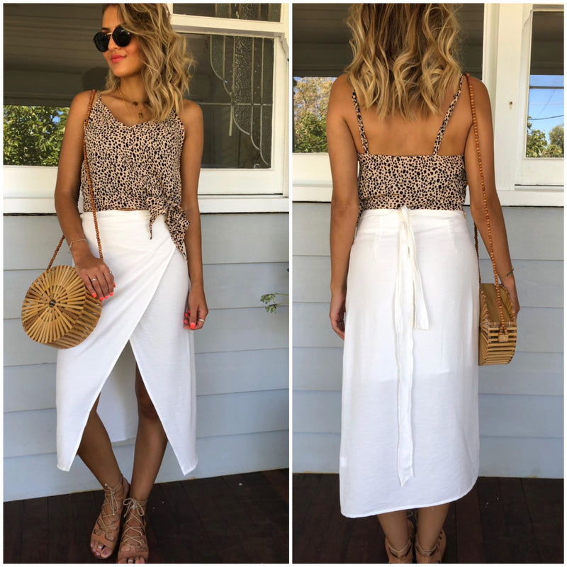 Leighton Skirt - White