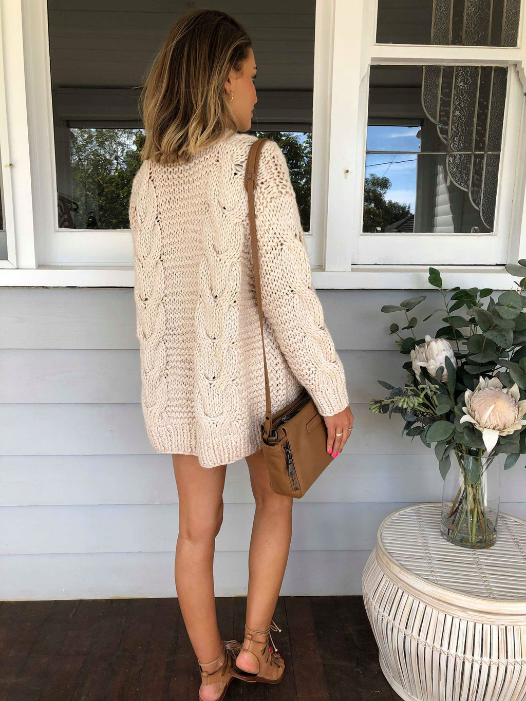 Aria Knit - Ivory