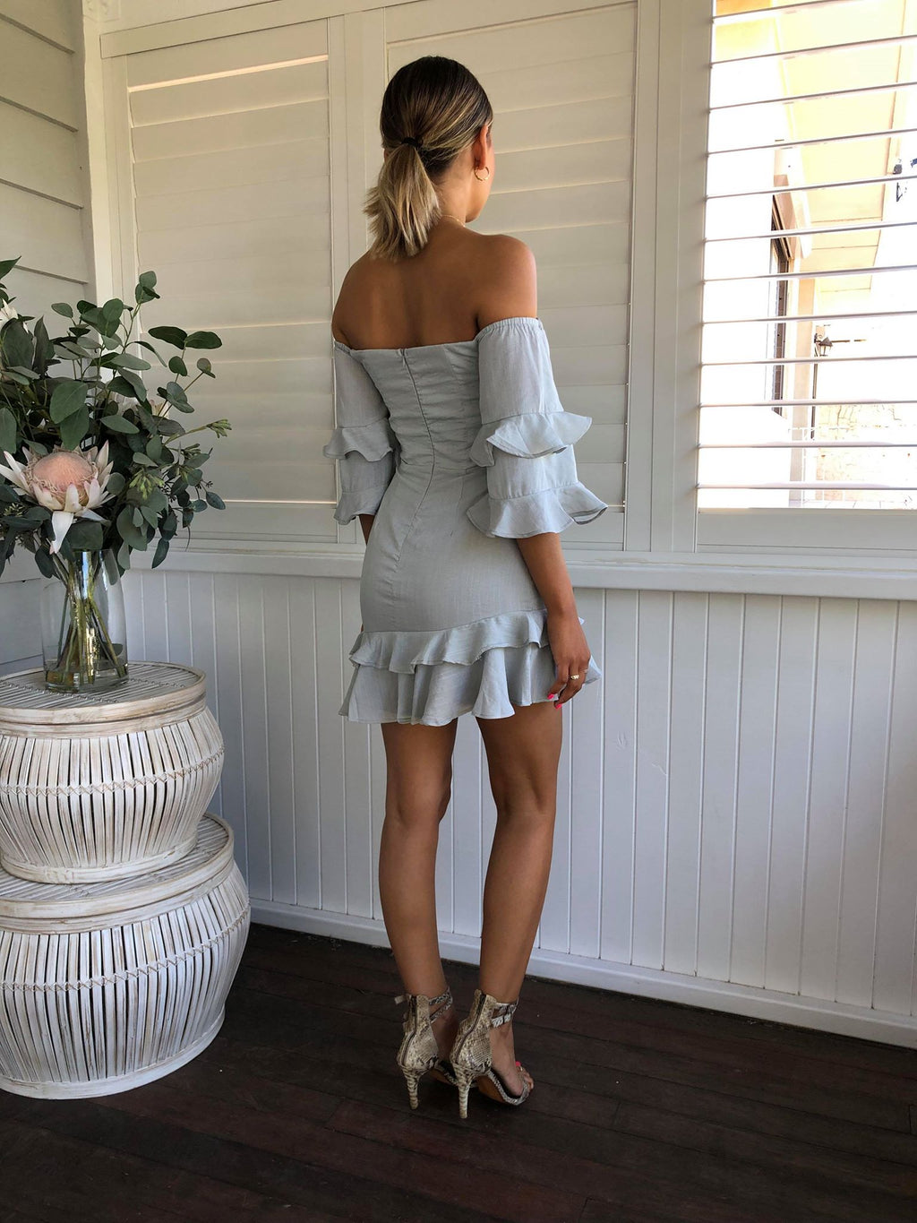 Zizi Off Shoulder Dress