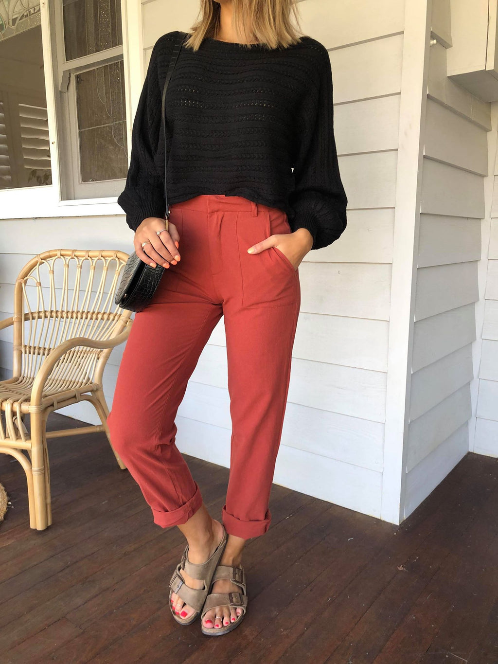 Wildwood Pant - Rust