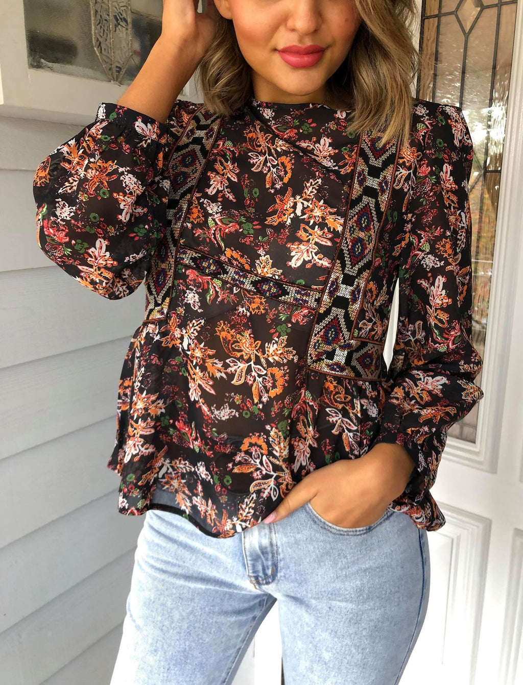 Bias Blouse