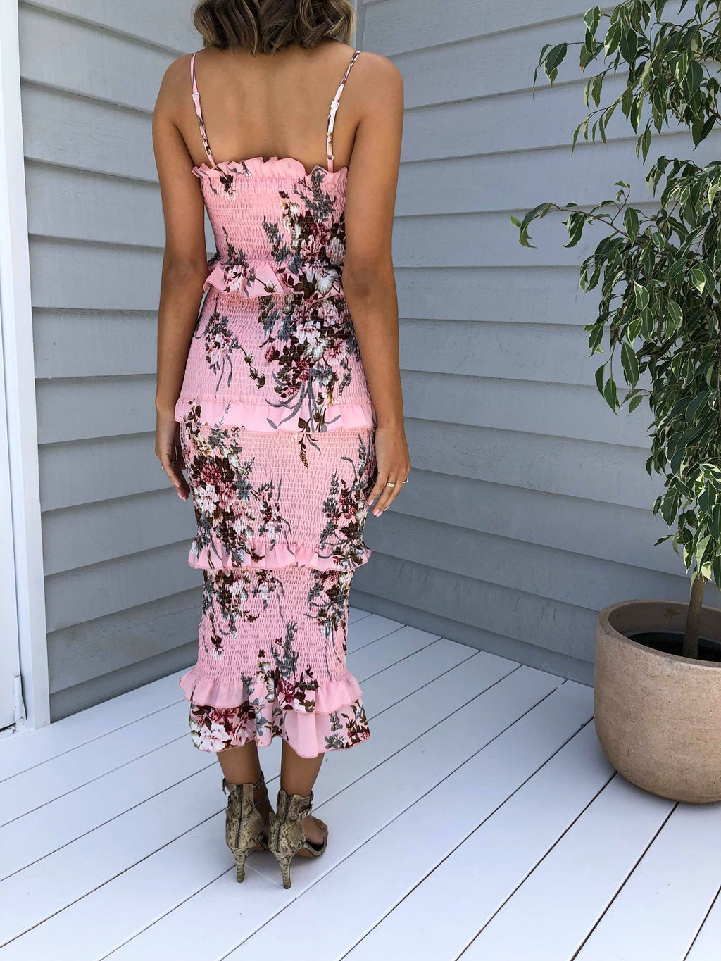 Istand Dress - Pink