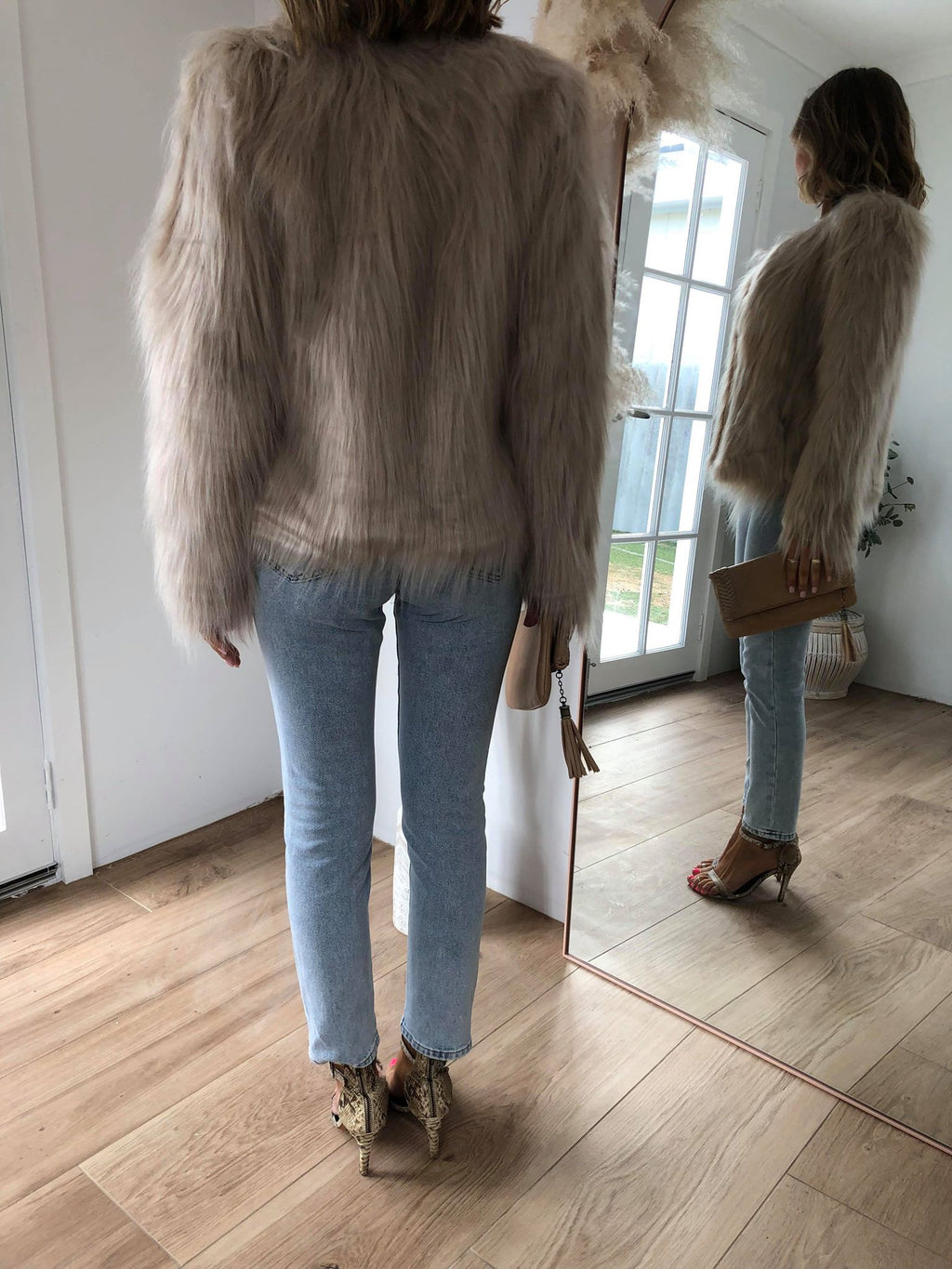 Marmont Faux Fur jacket