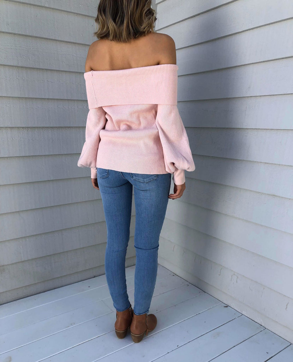 You & Me Knit - Blush