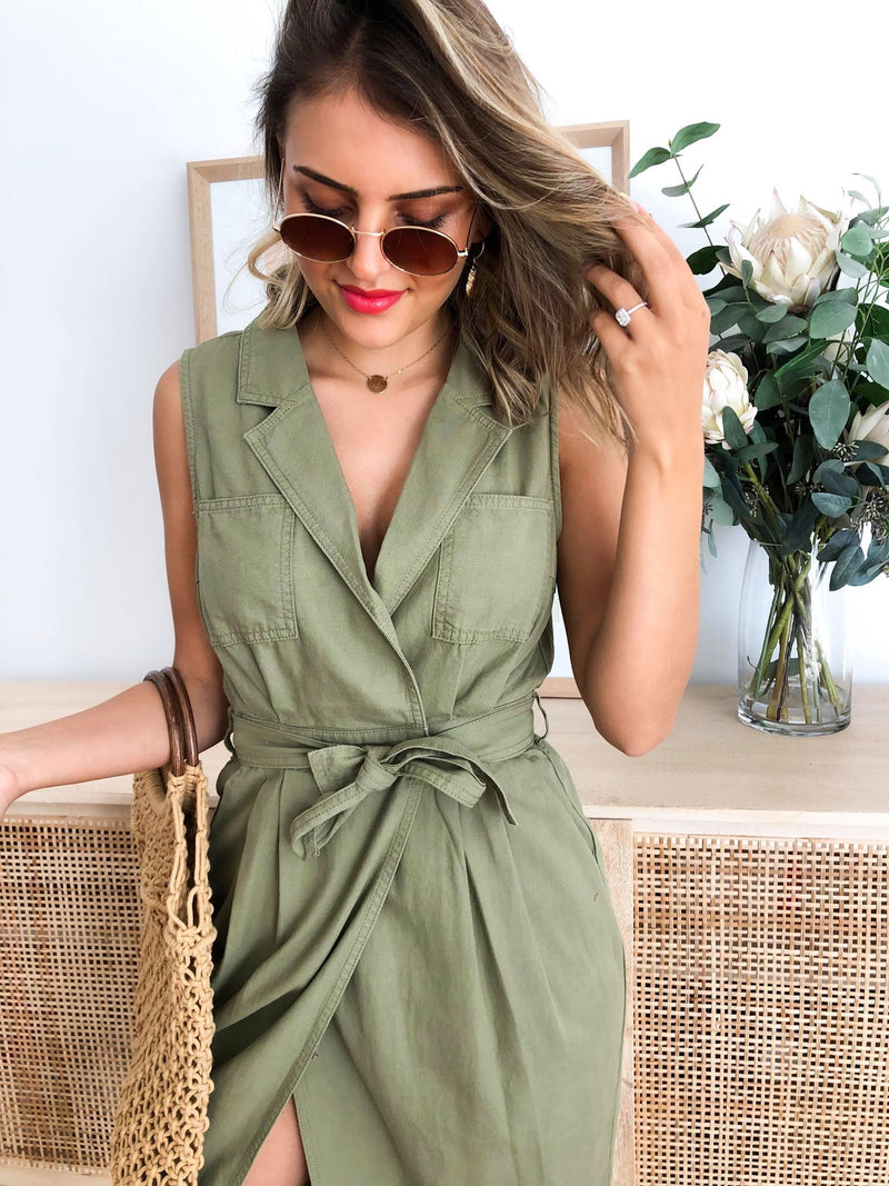 Eastside Midi Dress