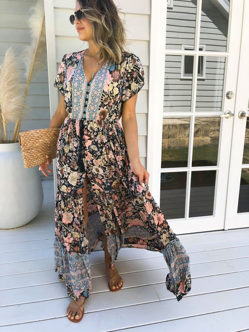 Tessa Maxi Dress - Multi
