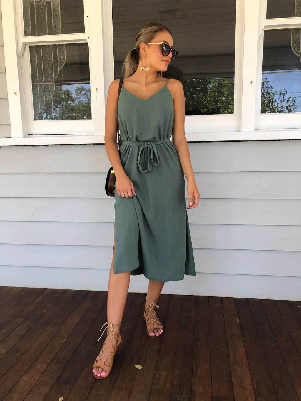 Gretta Midi Slip Dress