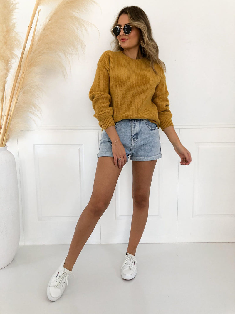 Cola Jumper - Mustard