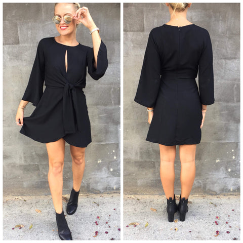 Dust Til Dawn Dress Black