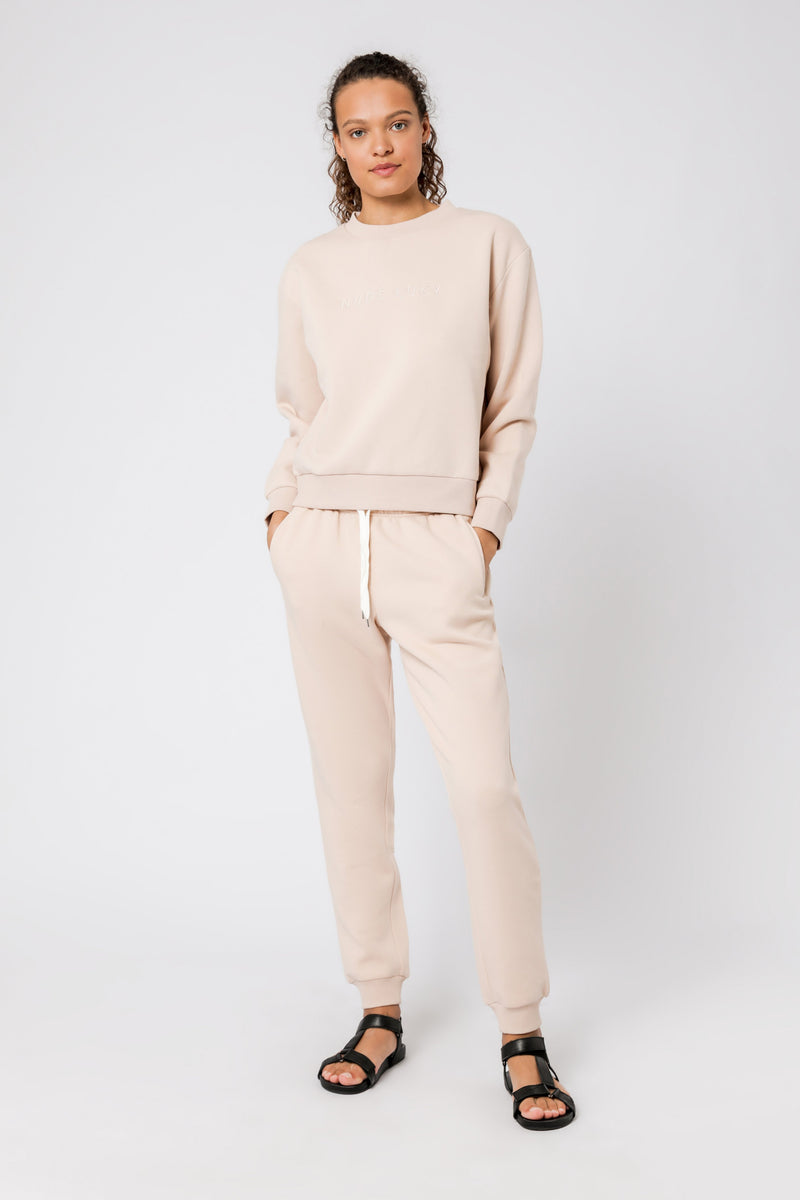 Carter Classic Trackpant - Blush