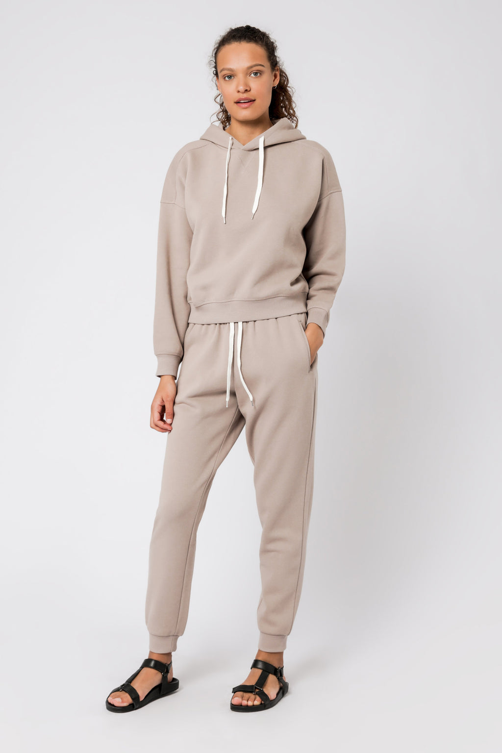 Carter Classic Hoodie - Taupe