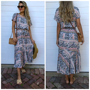 Cara Dress - Aztec