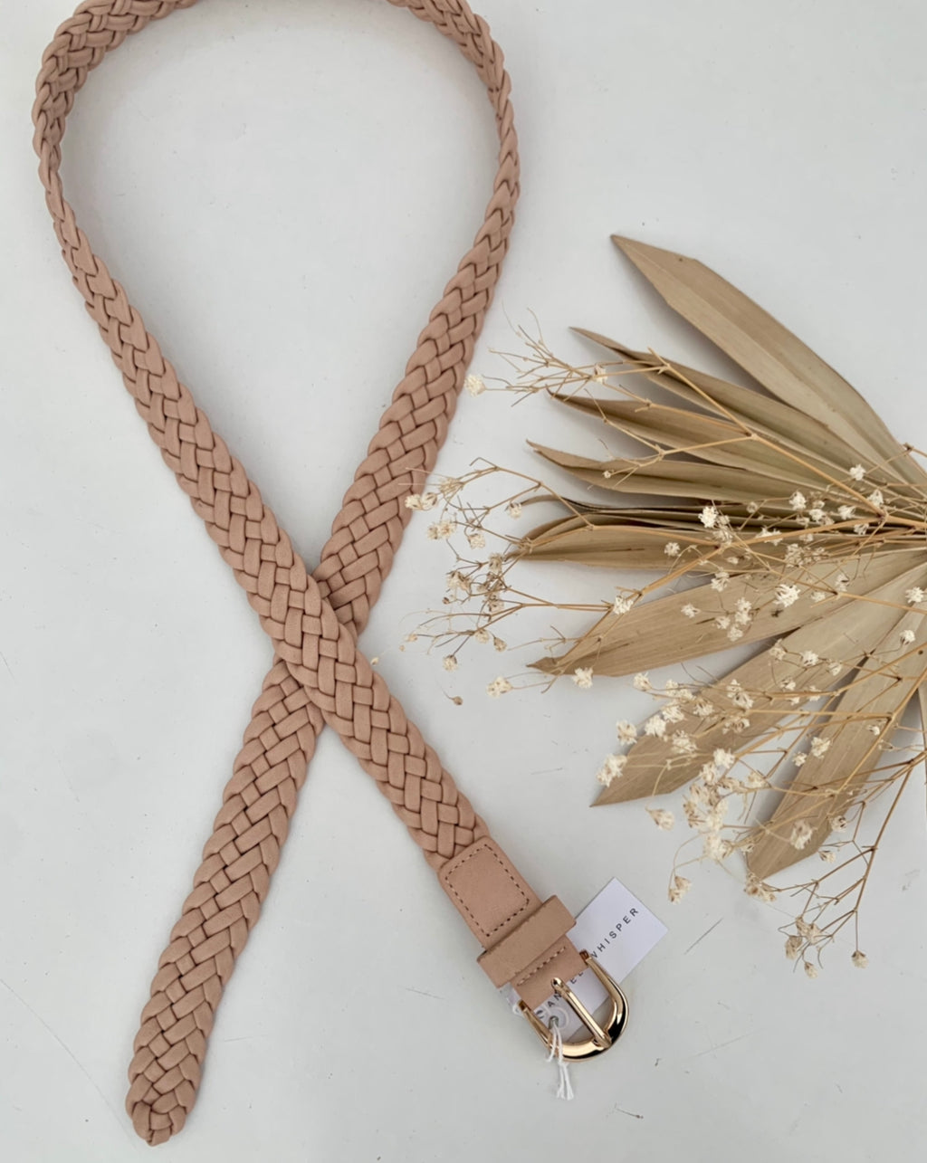 Rope Belt- BEIGE