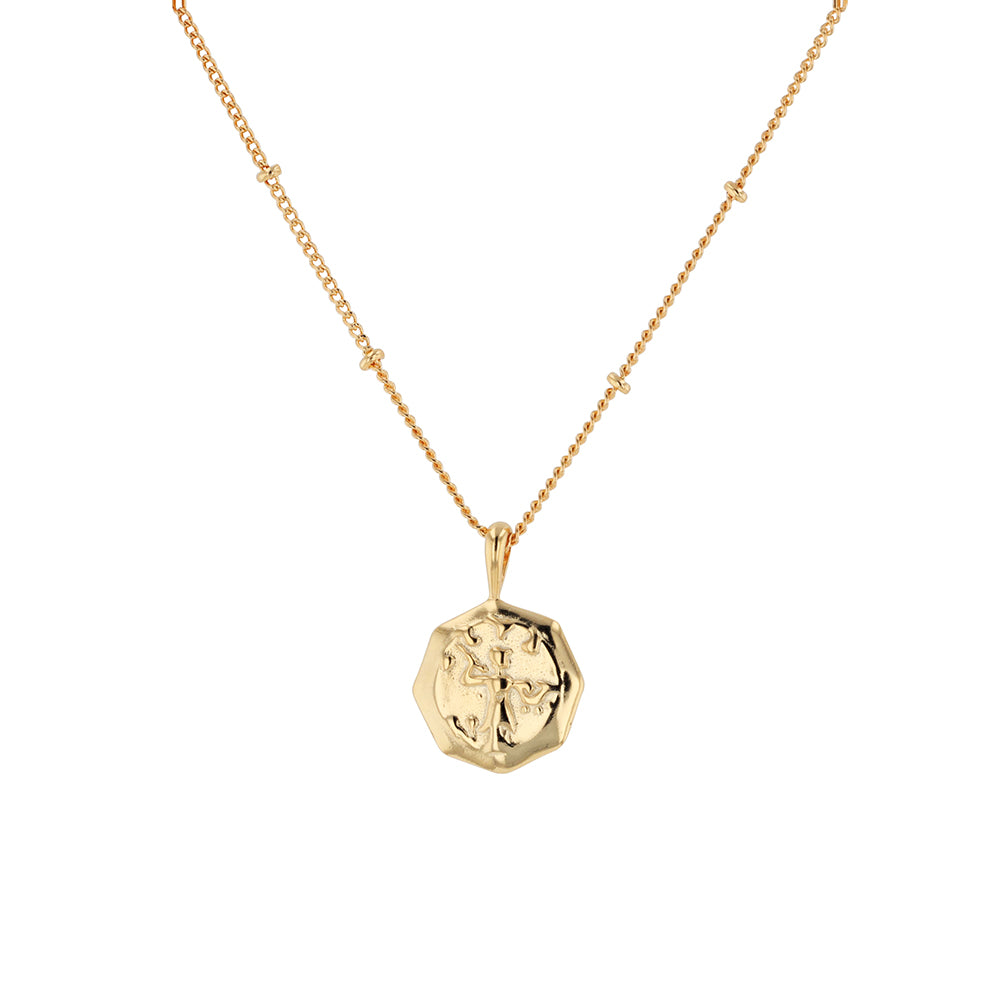 Tobie Coin Necklace