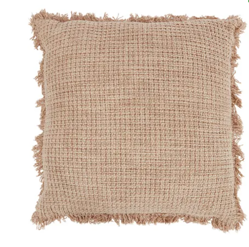 Zohra Cotton Cushion Nude - collect Gateways only