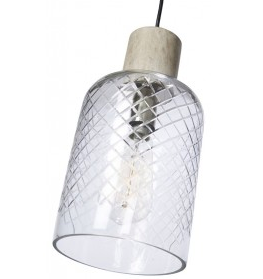 Byron Tubular glass pendant - collect Gateways only DUE end MAY