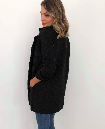 ZUZU COAT BLACK
