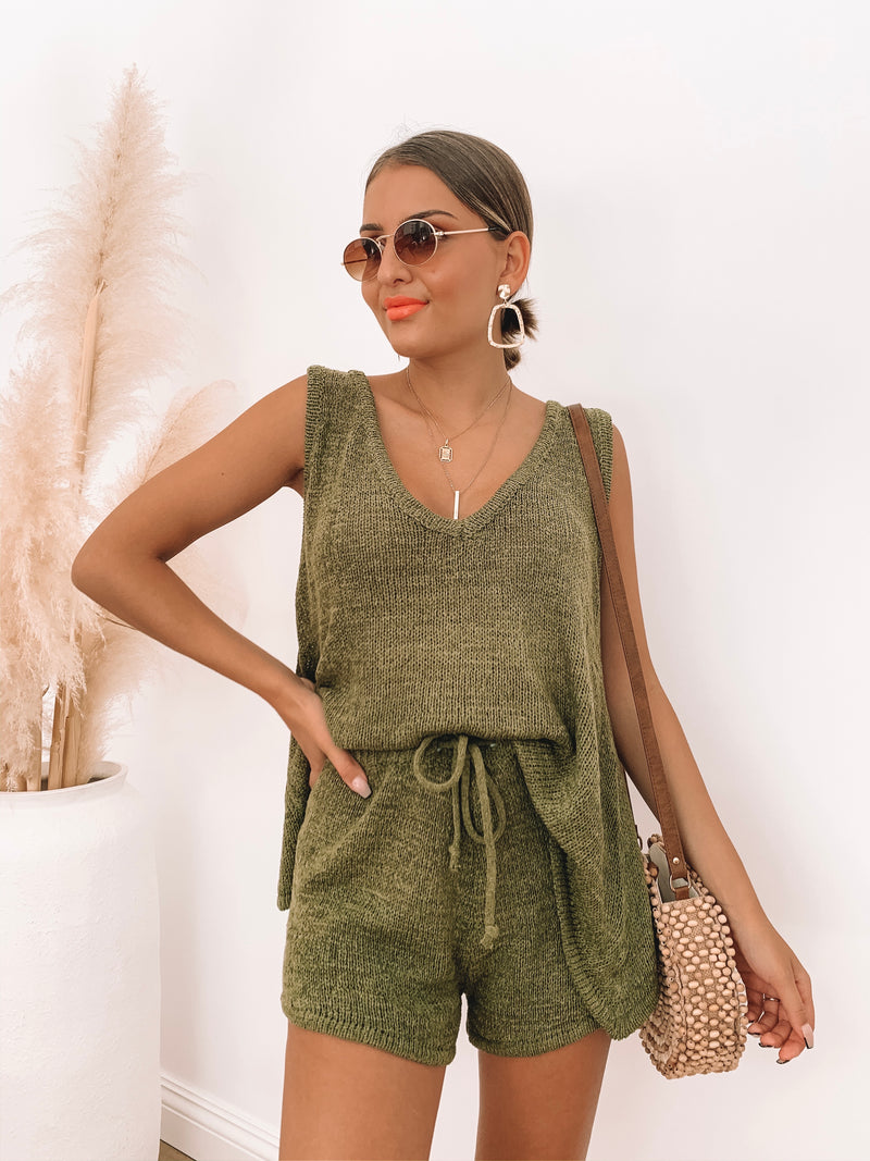 Lounge In Set - Khaki