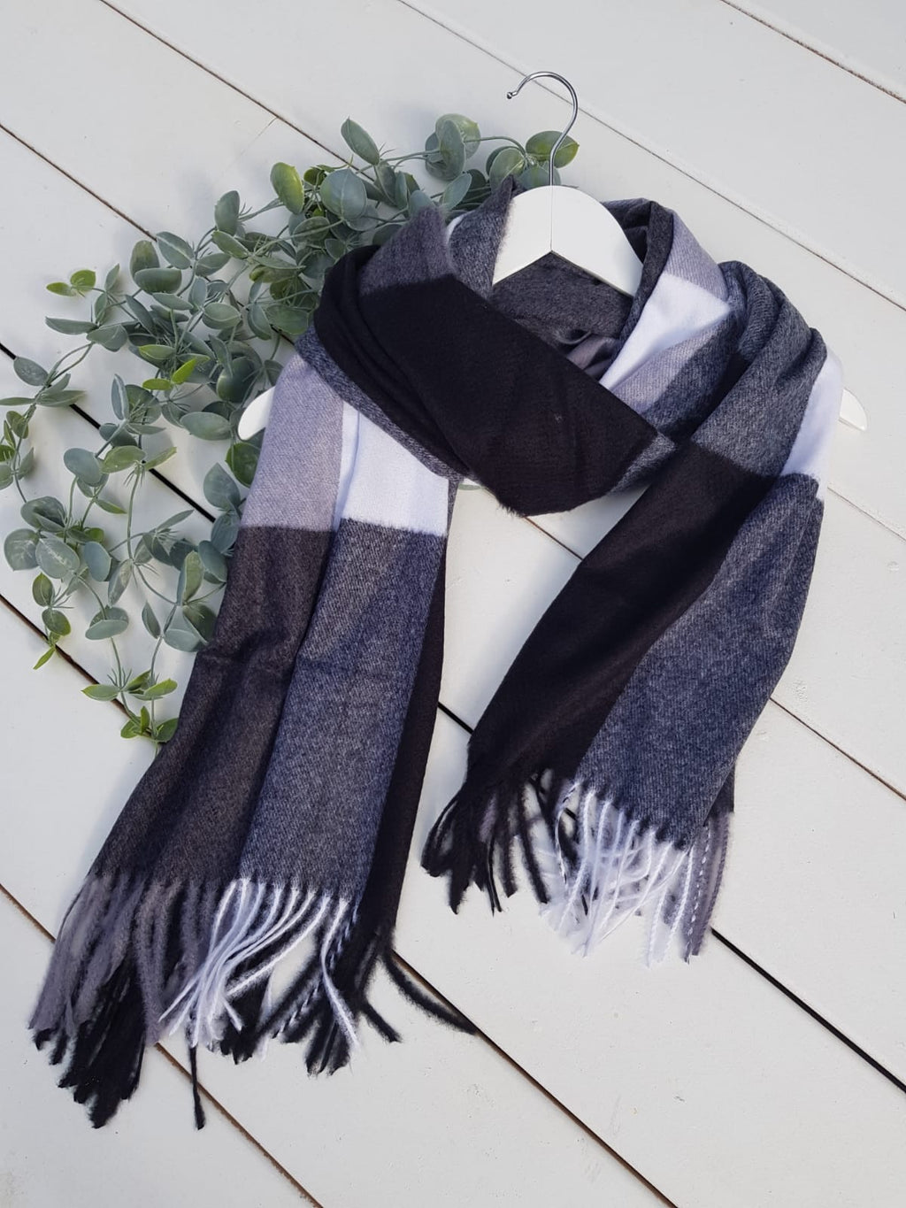 Audrey Scarf - Charcoal