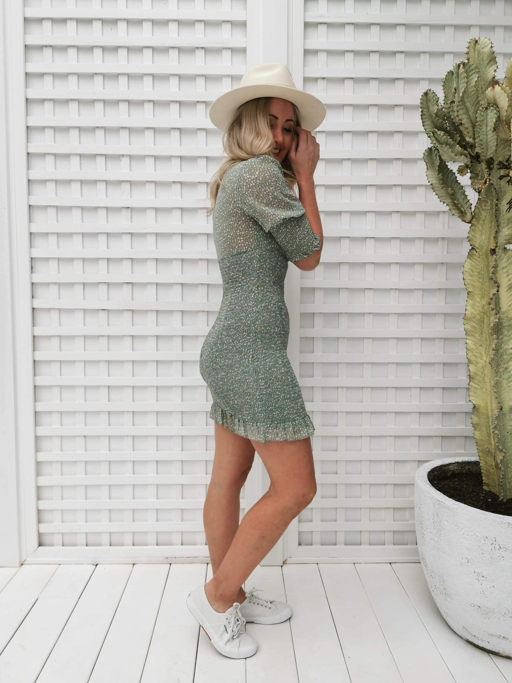 After This Dress - Green