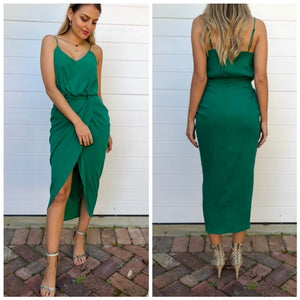 Lolla dress - Emerald