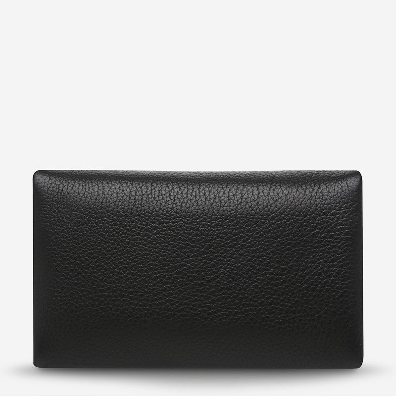 AUDREY WALLET - BLACK PEBBLE